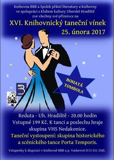 XVI. Knihovnický taneční vínek 25. 2. 2017