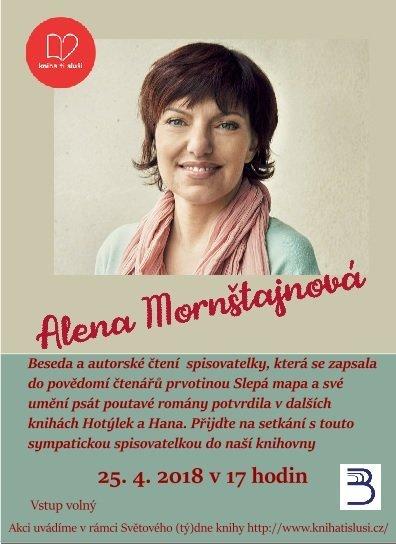 Beseda s Alenou Mornštajnovou