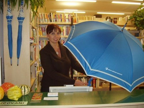 Půjčování deštníků