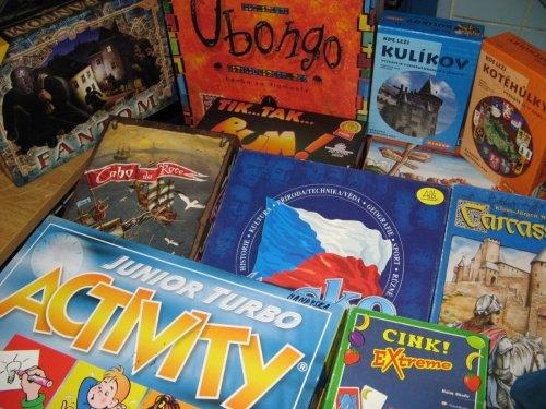 Půjčování deskových her pro dospělé
